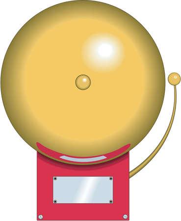 school class: School Bell Illustration Illustration