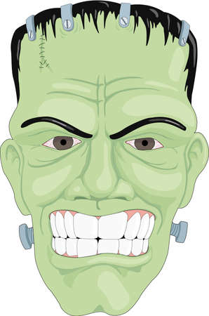 Frankensteins Monster Illustration Illustration