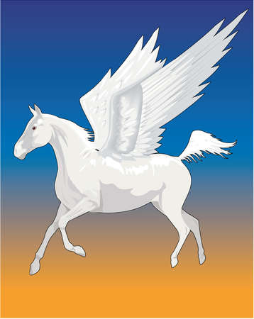 Pegasus illustration.