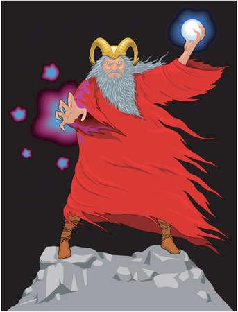 Sorcerer Illustration