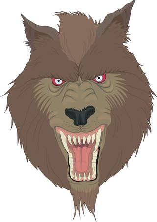 Weerwolf Illustratie