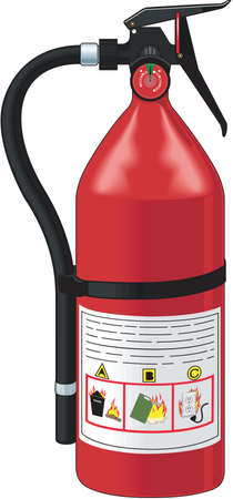 Fire Extinguisher Illustration 向量圖像