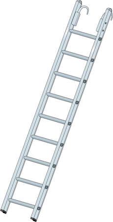 Roof Ladder Illustration