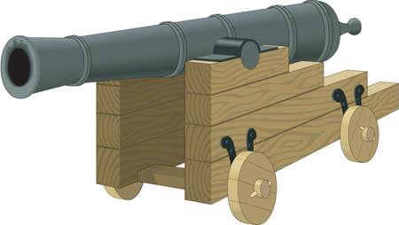 Cannon Illustration Illustration