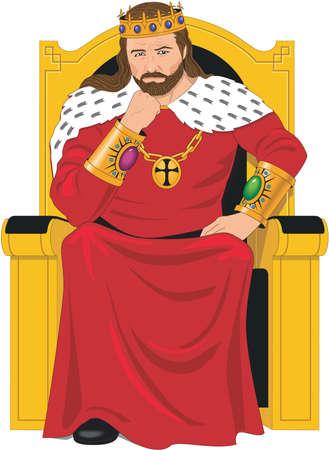 King Illustratie