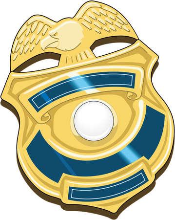 Badge Illustratie