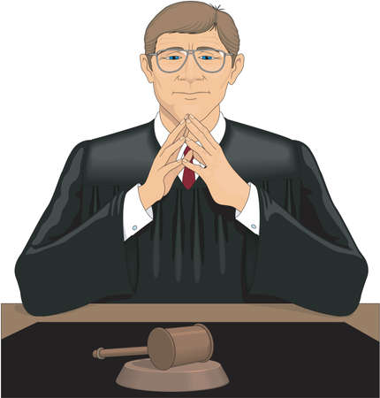 Judge Illustration