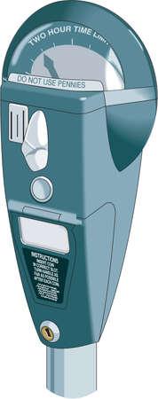 Parking Meter Illustration