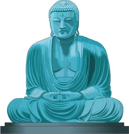 Buddha Illustration Çizim
