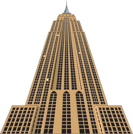 Ilustracja Empire State Building