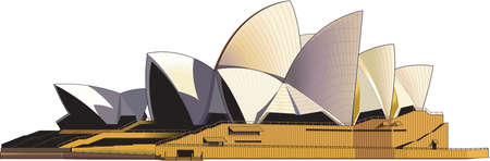 Sydney Opera House Illustration