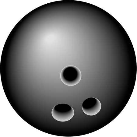 ボウリングのボールの図 写真素材 - 84142121