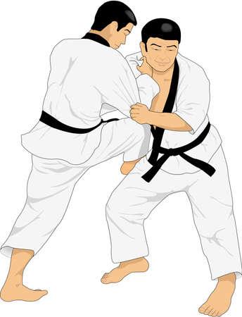 Judo Illustratie