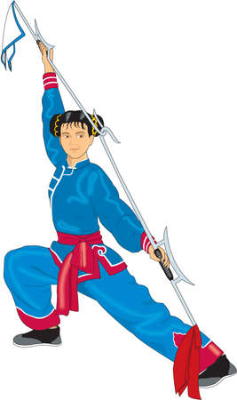 Kungfu Illustration