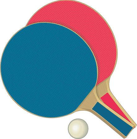 Ping Pong Illustration Imagens - 84159988