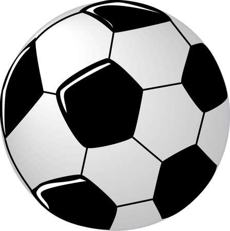 Voetbal Illustratie.