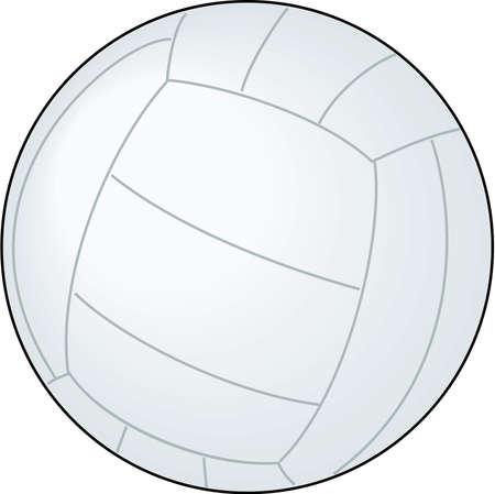 Volleybal Illustratie