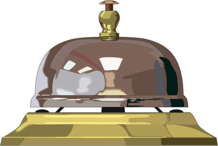 Appelez l'illustration de la cloche. Banque d'images - 84436892