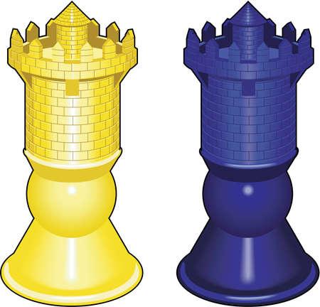 Ilustración de pieza de ajedrez.
