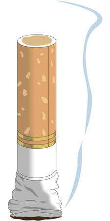 Cigarette Butt illustration