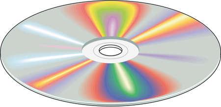 Compact disc illustration