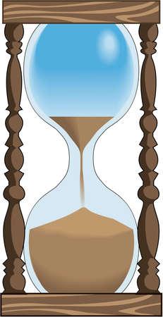 Hour Glass Illustration