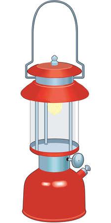 Realistic red lantern Illustration