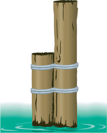 Pilings Illustration