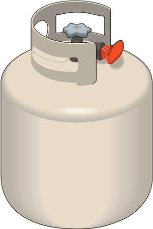 Propane Tank Illustration