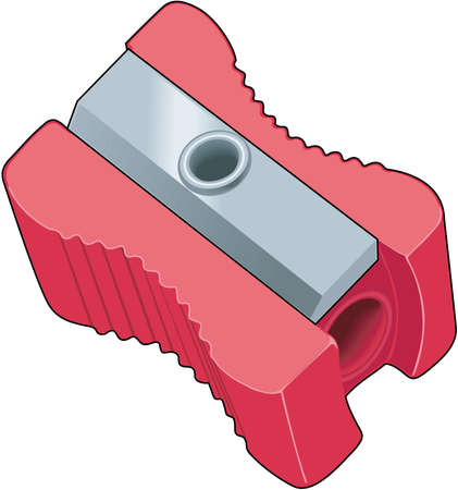 Pencil Sharpener Illustration Banco de Imagens - 84438317