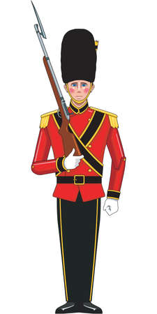 Toy Soldier Illustration Illustration