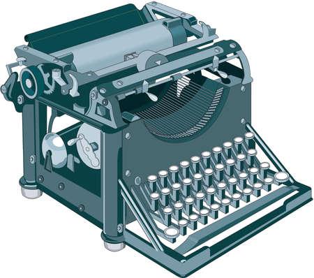 Typewriter Illustration Ilustração