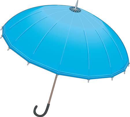 Ilustración del paraguas Foto de archivo - 84438726