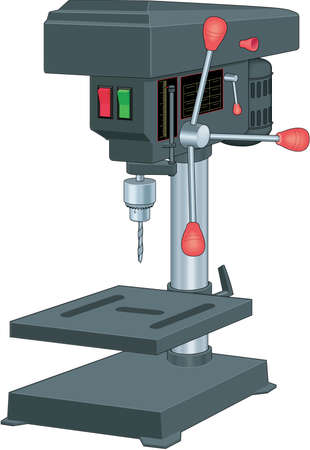 Drill Press Illustration
