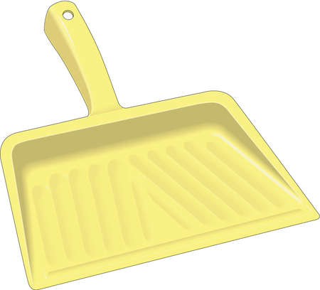 Dust Pan Illustration