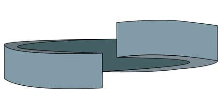 Lock Washer Illustration Ilustração
