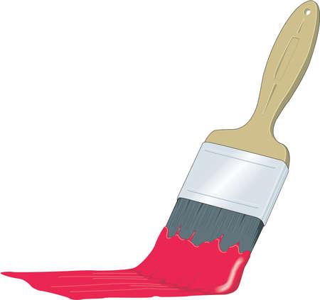 페인트 브러시 일러스트레이션