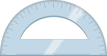 Protractor Illustration