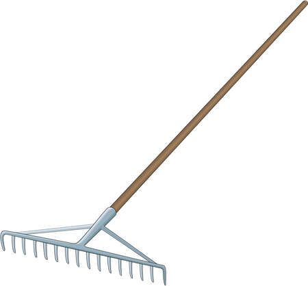 Garden Rake Illustration