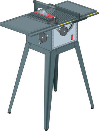 Table Saw Illustration