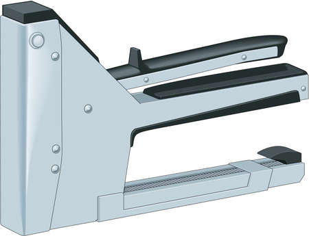 Staple Gun Illustration