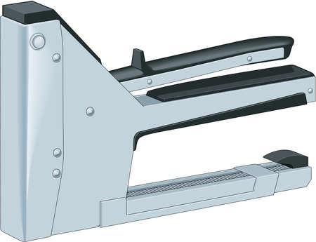 Staple Gun Illustration