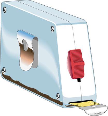 Tape Measure Illustration Çizim