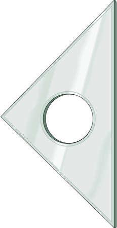 45 Degree Triangle Illustration