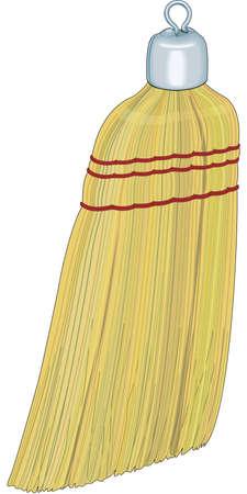 Whisk Broom Illustration