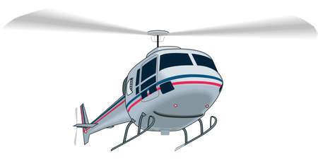 ヘリコプターのイラスト  イラスト・ベクター素材