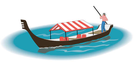 Gondola Illustration Иллюстрация