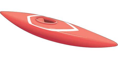 Kayak Illustration