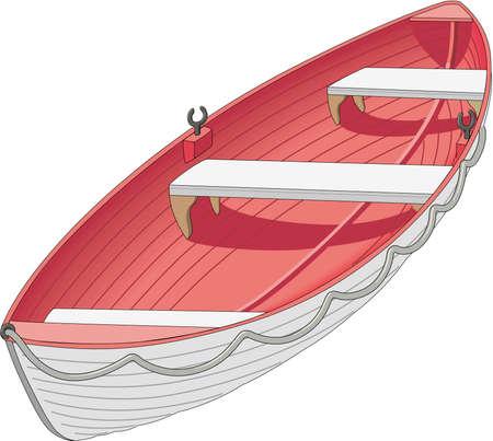 Life Boat Illustration