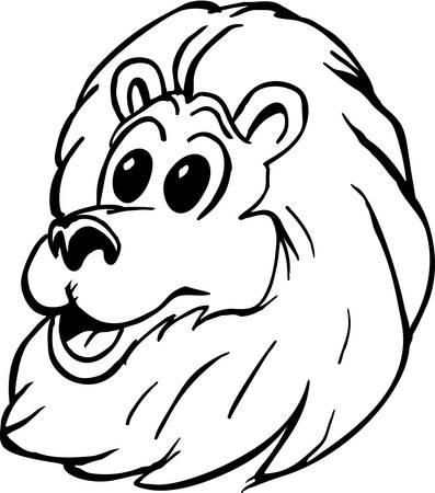 Lion Cartoon.